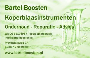 Bartel Boosten Koperblaasinstrumenten